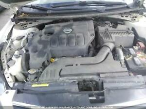 09 2009 Nissan Altima 2 5l Engine W O Hybrid Vin A 4th Digit Qr25de 97k