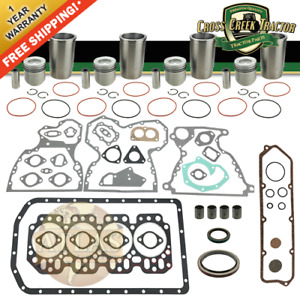 Eokjd4219c New Engine Overhaul Kit John Deere 2020 2120 2030 2130 310b 401b