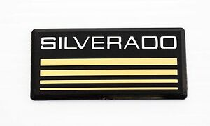 Chevrolet Silverado 1500 2500 3500 Emblem Badge Pillar Decal 1988 1998 15036132