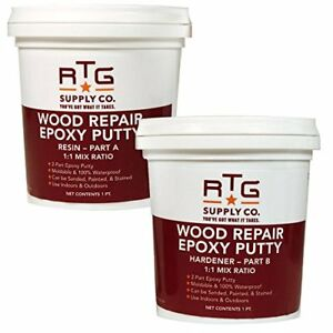 Wood Repair Epoxy Putty 2 Pint Kit