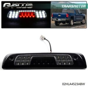For 2014 2018 Chevy Silverado Gmc Sierra 1500 2500 Led 3rd Brake Light Smoke