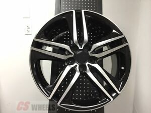 Set 4 19 Hfp Style Black Fits Honda Accord Sport Rims Brand New Alloy Wheels