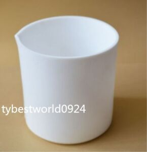 New 1pc 600ml Ptfe Beaker Lab Cup Measuring Cup For Chemistry Lab