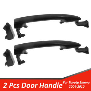 2 Rear Exterior Door Handle Driver Or Passenger Side For 2004 2010 Toyota Sienna