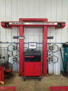 Hunter Dsp 400 Alignment Machine