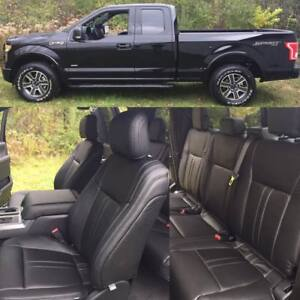 2015 2016 2017 2018 Ford F150 Xlt Super Cab Katzkin Leather Seat Lariat Design