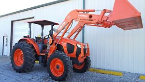 2016 Kubota M5 111 100 Hp Diesel Tractor With Quick Attach Loader