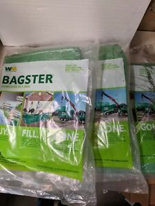 Lot Of 3 Bagster 8 l X 4 w X 2 5 h Dumpster In A Bag