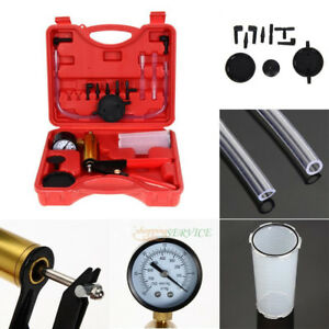 Handheld Vacuum Tester Pump Brake Bleeder Kit For Cars Clutch Motorcycles