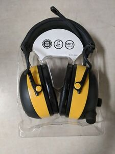 Hearing Protector Headset Noise Cancelling With Am fm Digital Radio 3m Worktunes