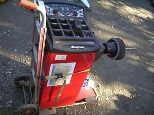 Snap On Motorcycle Wheel Balancer Model Eewb308a