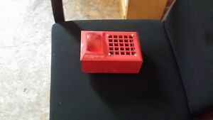 Space Age Fire Alarm Strobe With Back Box
