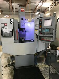 Haas Mini Mill Vertical Milling Machine Used 2004 With Chip Auger