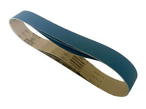 Sanding Belts 2 X 48 Zirconia Cloth Sander Belts 18 Pack 120 Grit