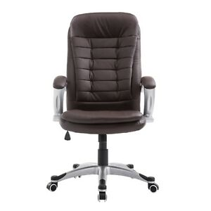 Office Chair Computer Gaming High Back Pu Leather Executive Chair Desk Chair