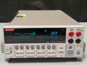 Keithley Instruments 2410 High voltage Sourcemeter W Measurements 1100v 1a 20w