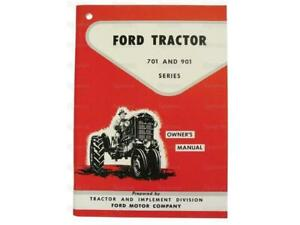 Ford 701 901 Tractor Operator Owner s Instruction Manual New 741 771 941 971 981