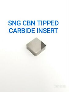Sng 431 432 433 Cbn Tipped Carbide Inserts