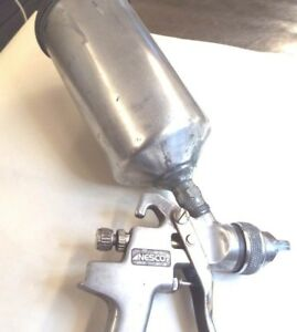 Nesco Np 840 Paint Spray Gun With Can Works Great