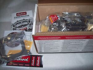 Edelbrock 1405 Performer Series 600 Cfm Manual Choke 426 Max Wedge 409 Chevy