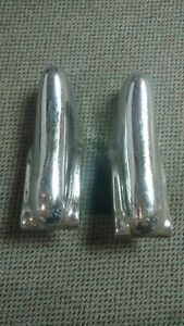 Plymouth 1950 50 Rear Front Bumper Guards Vintage Original