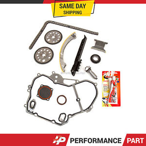 Timing Chain Kit Cover Gasket For 00 11 Gm 2 0 2 2 Z22se L61 L42 Lsj Lnf Ecotec