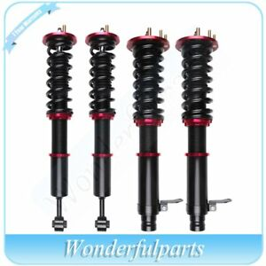 Full Set Coilovers For 03 07 Honda Accord Adjustable Height Shock Absorber