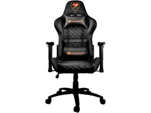 Cougar Armor One Black Gaming Chair 180 Reclining