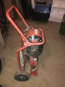 Hilti Te 3000 avr 1 1 8 15 Amp Electric Jack Hammer Demo Breaker W Dolly