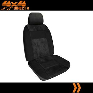 Single Soft Velour Micro Cord Car Seat Cover For Mg Mgb