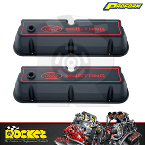 Proform Ford Mustang Cast Alloy Valve Covers Ford Windsor Pr302 031