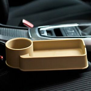 Car Seat Seam Wedge Cup Holder Water Food Beverage Bottle Stand Organizer