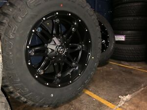 20x10 Fuel D531 Hostage 35 Fury Rt Wheel Tire Package 8x6 5 Chevy Hd 2500