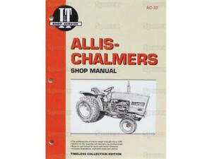Allis chalmers 5020 5030 Tractor Shop Service Repair Manual Book I