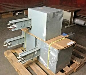 Westinghouse Pow r way Busway Tap Box 69 e 2919 8 400 Amp 3 Phase Indoor