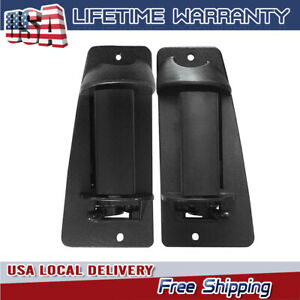 Lh Rh Pair Set Extended Cab 3rd Third Side Door Handle For Chevy Truck Cargo