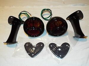 1928 1929 1930 1931 1932 33 Chevy Ford Hot Rod Fat Fender Stop Light Kit 6v