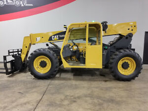 2007 Cat Caterpillar Tl642 6000lb Rough Terrain Telehandler Diesel Telescopic