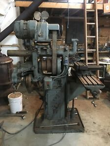 Horizontal Milling Machine Plus Tooling