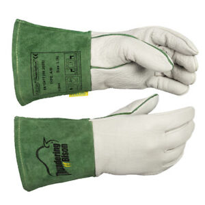 Weldas Thunderingbison Tig Welding Gloves Hand Bison Leather High Quality
