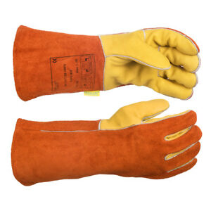 Weldas Mig mag Welding Gloves Oil Weather Resistant High Quality Size L Xl