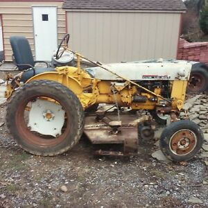 1963 Cub Lo Boy With Mower Tractor