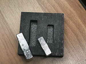 1oz & 2oz KitKat Bar Graphite Jewlery mold for casting Silver ingots foundry HOT