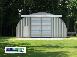 Prefabricated Steel 25x25x14 Metal Barn Outdoor Storage Building Tool Shed