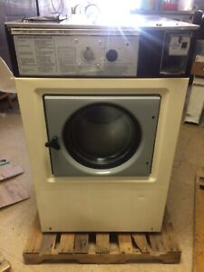 Wascomat W125 Triple Load Washers With White Color Panel