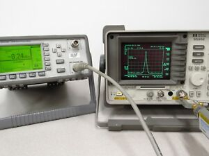Hp Agilent 8595e 9 Khz 6 5 Ghz Spectrum Analyzer