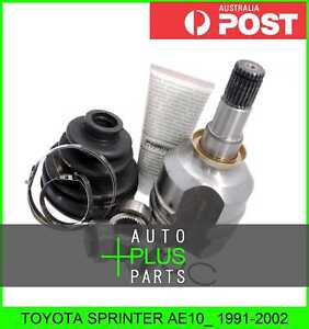 Fits Toyota Sprinter Ae10_ Inner Joint 29x34x23
