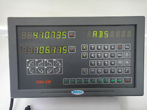 2 Axis D60 2 Display To Replace Your Acu rite anilam Display W 6 Or 9 Pin Plug