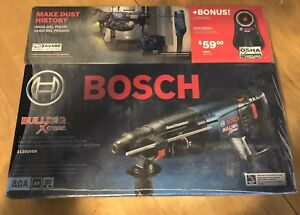 Bosch 11255vsr Bulldog Xtreme 1 Sds plus Rotary Hammer New Dust Attachment