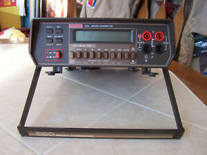 Keithley Model 580 Micro ohmmeter Used Tested Functions Per Specification